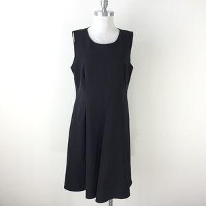 Dkny Dresses - DKNY Donna Karan 14 Black Seamed Panel dress